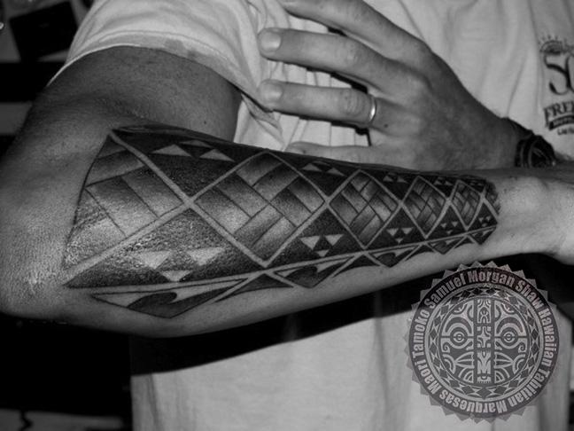 Hawaiian inspired tattoos south seas style and custom for Hawaiian style tattoos