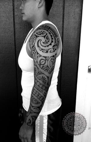 Womens' Polynesian Tattoos
